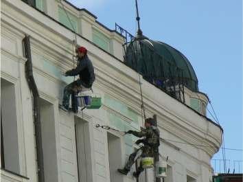 Ремонт и реставрация фасадов зданий Кировоград