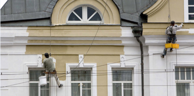 Ремонт и реставрация фасадов зданий в Кировограде